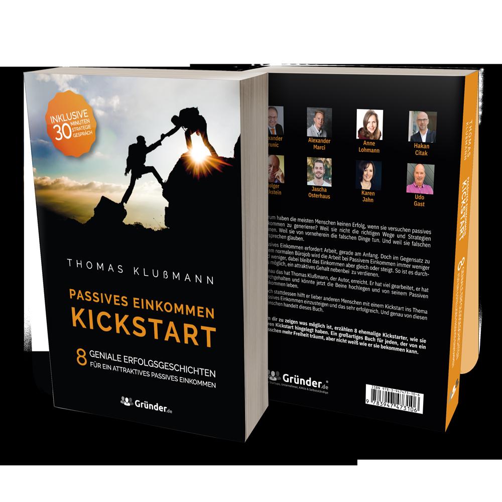 """Review zum Buch """"Passives Einkommen Kickstart"""" von Thomas Klußmann"""